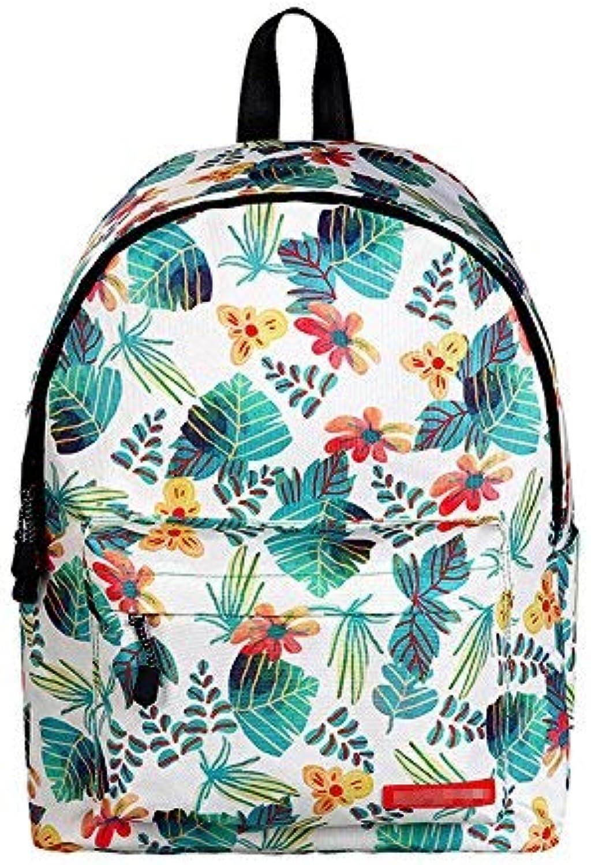 Amayay Rücksack Teenager Backpack Daypacks Stylisch Vintage Erwachsene Casual Hohe Licht Einfacher Stil Reise Rucksack Druck Schultasche Ms Fitness Bewegung Rucksack B (Farbe   A, Größe   One Größe)