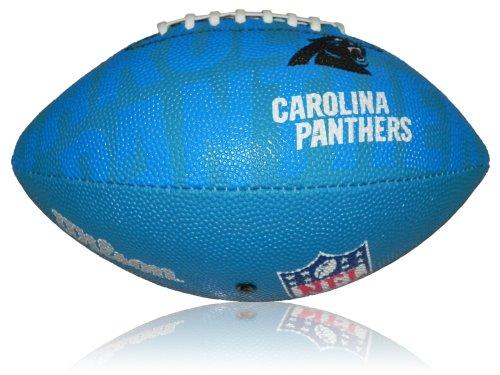 Wilson Football NFL Junior Carolina Panthers Logo, Mehrfarbig, 5, WL0206784040
