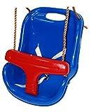 OTITU Just Fun Siège de balançoire pour Bébé – Bleu-Rouge