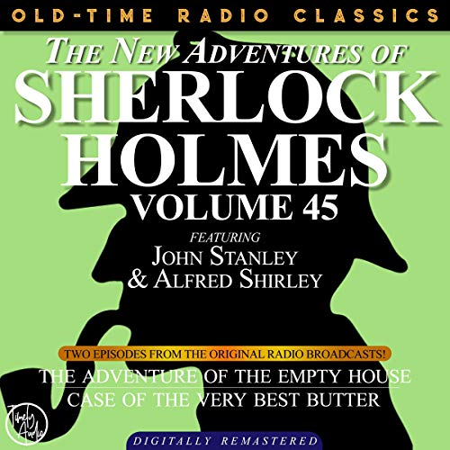 Couverture de The New Adventures of Sherlock Holmes, Volume 45; Episodes 1 and 2