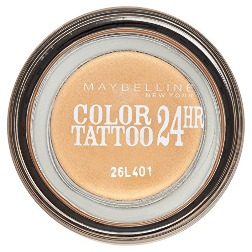 Gemey Maybelline Eyestudio Color Tattoo 24-Hour Eye Shadow 05 Eternal Gold by Maybelline