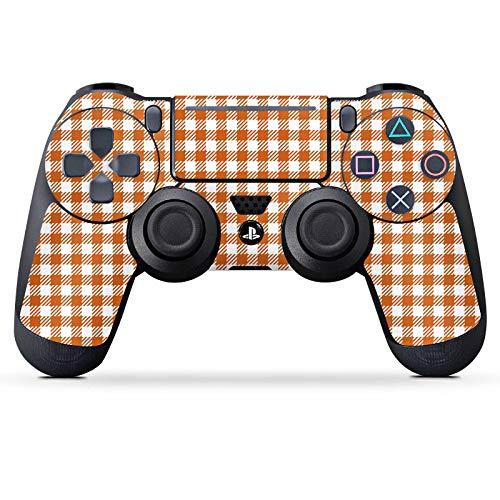 Skin kompatibel mit Sony Playstation 4 Pro PS4 Controller Aufkleber Folie Sticker Karo Picknick Decke