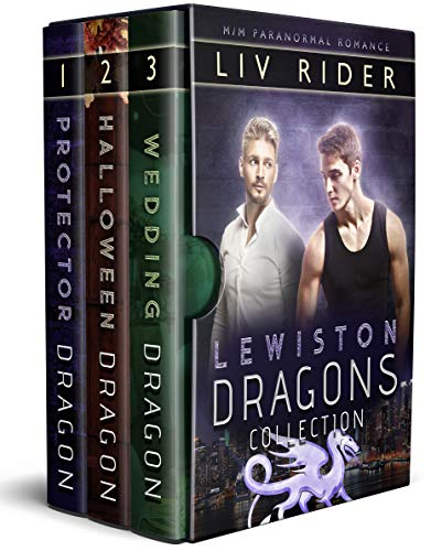 Lewiston Dragons Collection: MM Shifter Romance (English Edition)