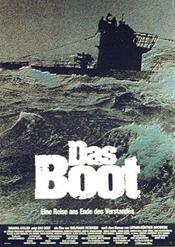 1art1 Das Boot - Jürgen Prochnow, Herbert Grönemeyer Poster 84 x 59 cm