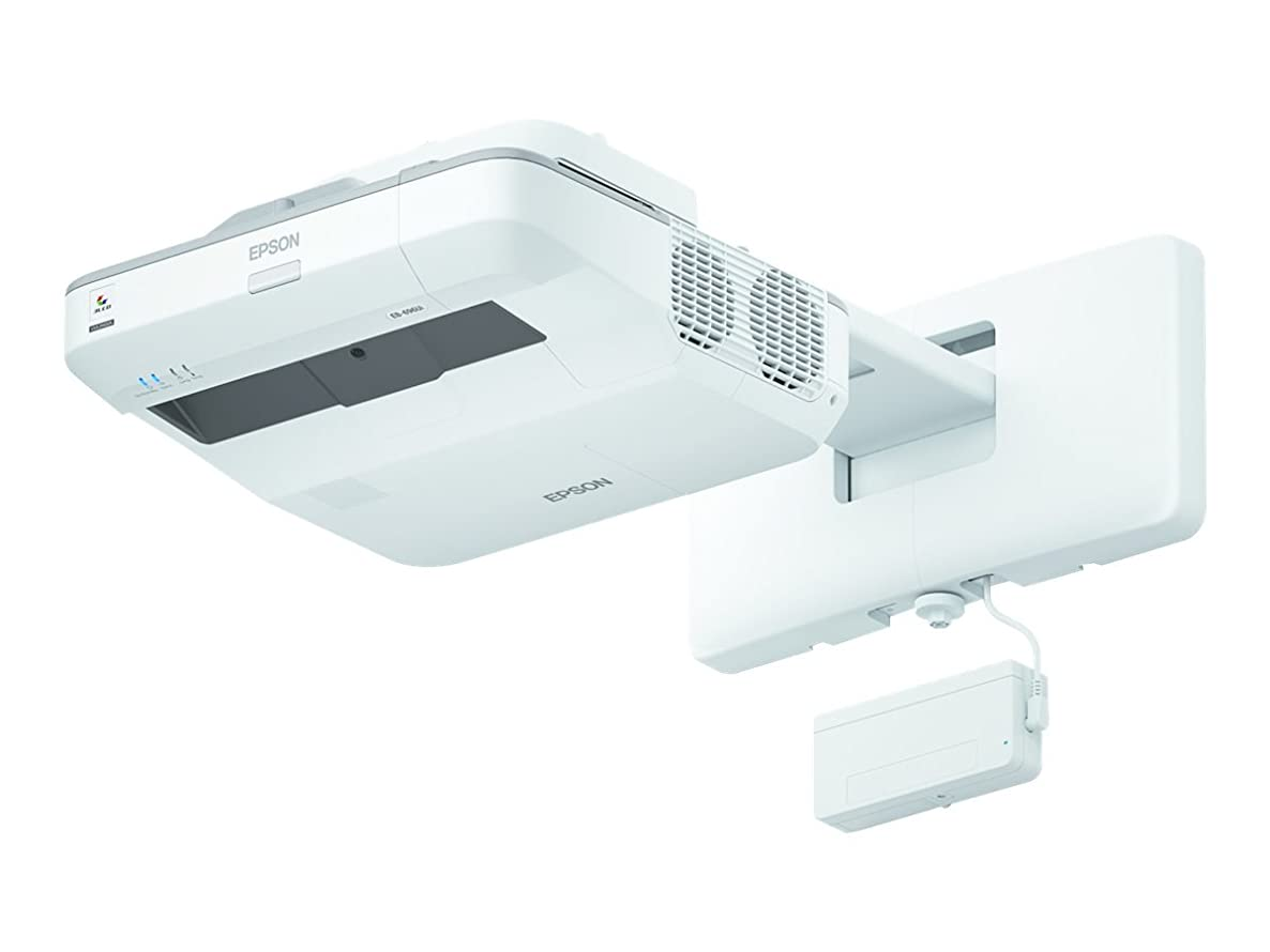 Epson V11H728022 BrightLink 696Ui LCD Projector, White