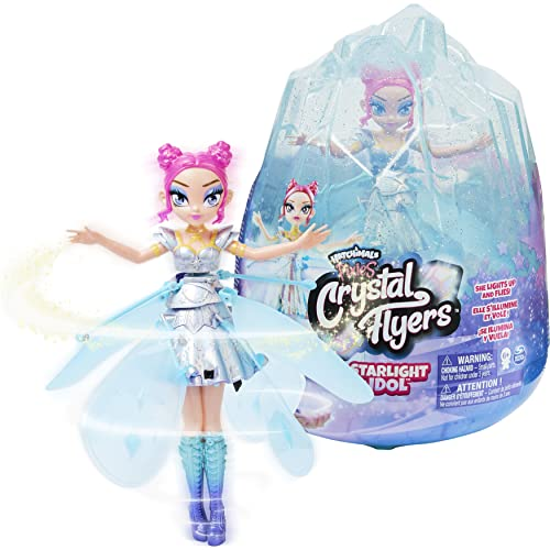 Hatchimals Pixies, Crystal Flyers Starlight Idol Magical Flying Pixie...