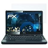 atFolix Schutzfolie kompatibel mit Fujitsu Lifebook T901 Panzerfolie, ultraklare & stoßdämpfende FX Folie (2X)