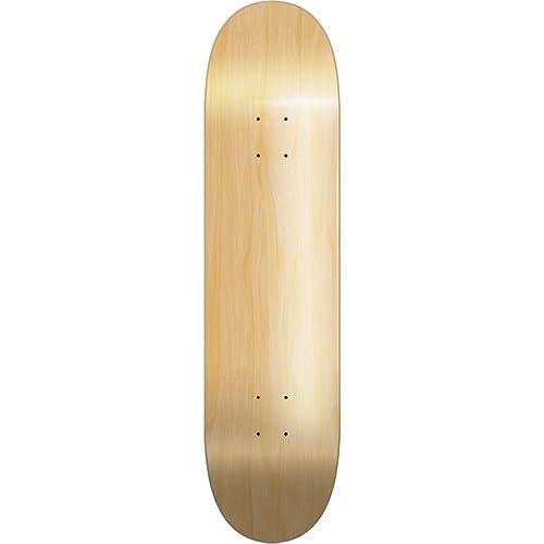 28ca4dc4 Laser New Plain Pro Canadian Maple Skateboard Blank Deck Board 7.75