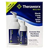 Theraworx Relief Muscle Cramp and Spasm Foam Economy & Travel Pack