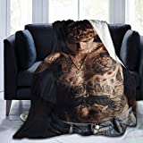 Justin-Bieber Super Soft Blankets Anti-Pilling Flannel Throw Blanket for Home Bedding Living Room 60' x50