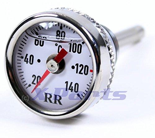 RR Öltemperatur Anzeige Ölthermometer ET4 LX LXV S GTS Super WEISS