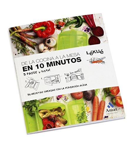 Lekue - Estuche de vapor, Con bandeja y kit 10 en Español, Rojo ...