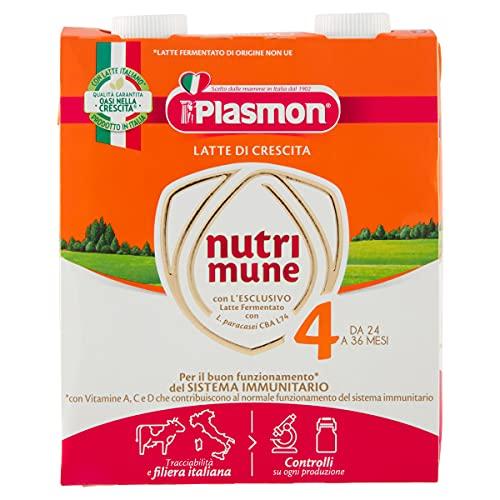 Plasmon Nutri-Mune Latte 4 Crescita Liquido 2x500ml