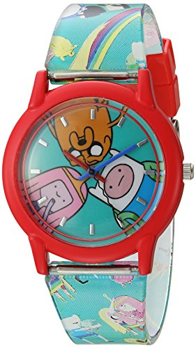 Adventure Time Kinder ATW001-RE Finn Jake Princess Bubblegum Armbanduhr