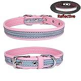 Newtensina Moda Collar de Perro reflexivo Collares de Cachorro para Perros Pequeños Perros medianos
