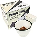 Fairly Odd Novelties Ceramic Toilet Coffee Mug - Now With Hidden Poop 11-Ounces, White