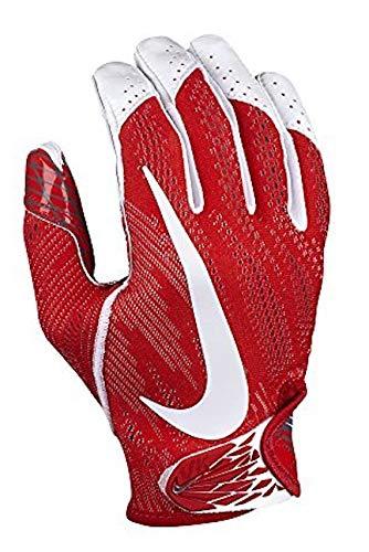 Nike Men's Vapor Knit Skill Gloves with Magnigrip Technology - Red White - XXL