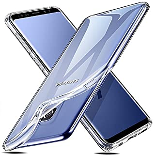 ESR Samsung Galaxy S9 Case, Crystal Clear Transparent Gel Back Case [Slim-Fit] [Anti-Scratch] [Shock Absorption] for Samsung Galaxy S9 (2018) (Clear) (B078PFDSQ9) | Amazon price tracker / tracking, Amazon price history charts, Amazon price watches, Amazon price drop alerts