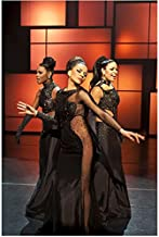 Sparkle Jordin Sparks Singing with Carmen Ejogo and Tika Sumpter 8 x 10 inch Photo