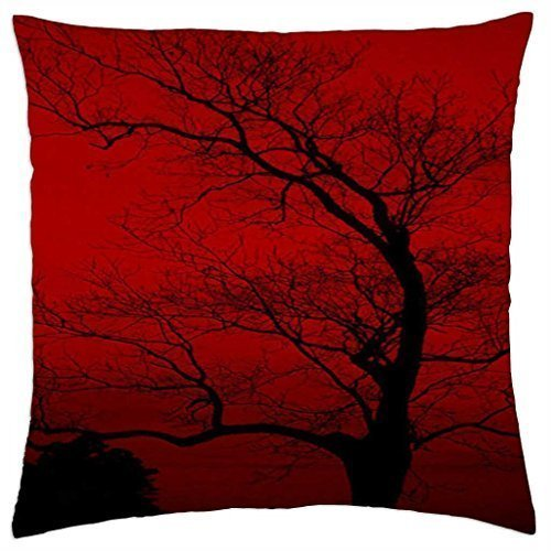 Blood red sky - Throw Pillow Cover Case (18