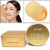 [PETITFEE] Gold Hydrogel Eye Patch 60 pcs (30 pairs) / moisture,dark circles,wrinkles/Korean Cosmetics