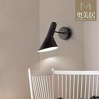 Modern Minimalist Rustic Wall Lamp Suitable For Bedroom,Living Room,Hallway,Hotel,Bedside E27 Creative Wall Lamp Living Room Aisle Bedroom Bedside Lamp Wall Lamp Mirror Headlights,Aj Wall Lamp