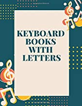 keyboard books with letters: Blank Sheet Music Composition and Notation Notebook /Staff Paper/Music Composing / ... music prime store/note book paper