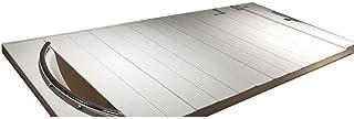 バスタブボードバスタブカバー防塵折りたたみダストボードバスタブ絶縁カバーPVCバスルームトレイ(サイズ:120800.6cm)