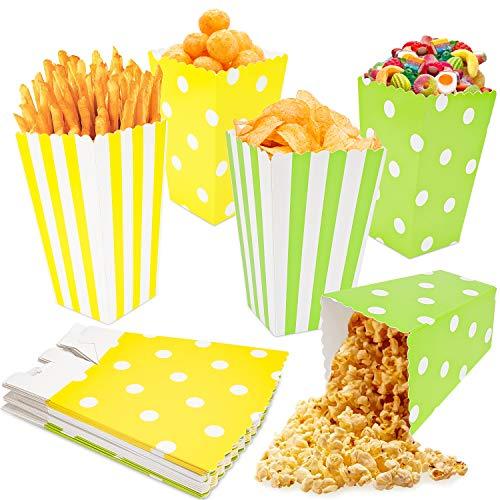 Sacchetti Carta 20PCS,Sacchetti Popcorn,Sacchetti Caramelle,Scatole Per Popcorn,Snack Per Feste, Biscotti,Patatine Fritte, Bocconcini Di Pollo,Scatole Per Caramelle,Per Feste Di Natale E Compleanno