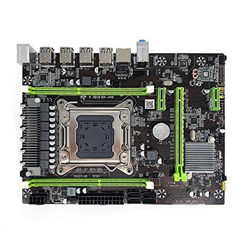 Placa base X79 Pro LGA2011 Soporte E5-2650 DDR3 E5 V1 v2 Procesador Xeon 2680 2640 2670 Procesador placa base de escritorio con procesador para intel cpu combo actualizaciones puertos pcie ddr3 juegos