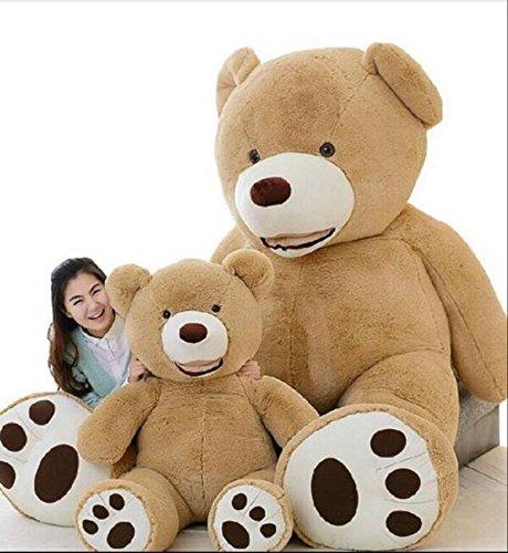 CLINGE Teddy Bear Skin Huge Size 160cm USA Giant Bear Skin Teddy Bear Hull, Super Quality,Wholesale Price Selling Toys for Girls
