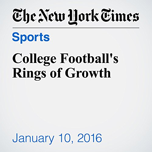 College Football's Rings of Growth audiobook cover art