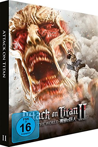 Attack on Titan Film 2 End of World - [Steelbook] - [Blu-ray] - [Limited Edition]