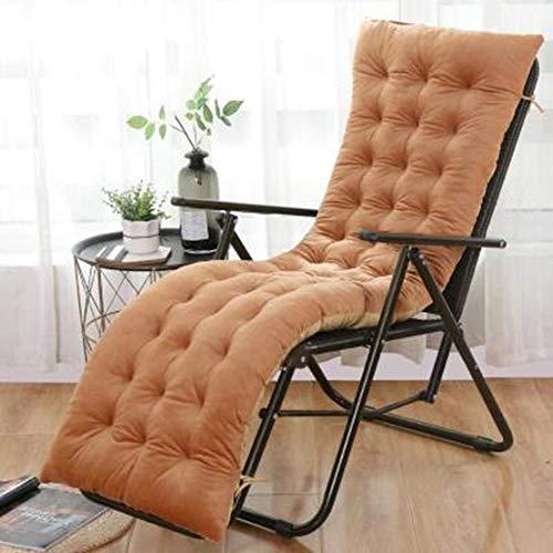 JGHF Cojín de color sólido suave y cómodo para silla de oficina, cojín de silla reclinable, cojín largo, varios tamaños disponibles (estilo 25 sin silla, 48 x 120 cm)