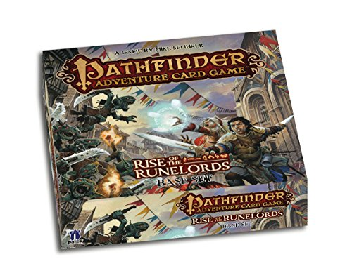 Paizo PAI06000 - Kartenspiele, Pathfinder, Rise of The Runelords Base Set