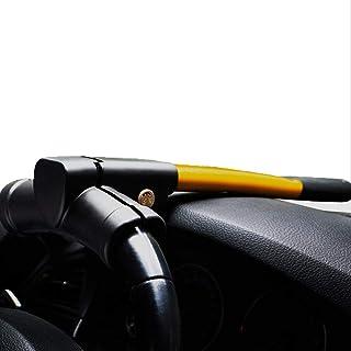 XJ Universelle Sicherheits Diebstahlsicherung, Schwerlastwagen, Lenkradschloss Diebstahlsicherung, Diebstahlsicherungs Flügelradschloss, Fahrzeug  Diebstahlsicherung, mit 2 Schlüsseln   gelb