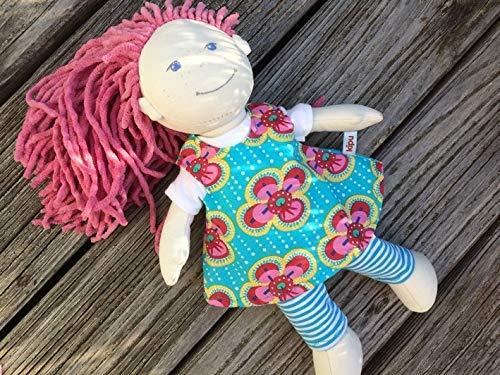 Puppenkleidung handmade KLEIDUNG Kleid + Shirt + Leggings für Stoff-Puppen Gr. 30 cm ODER Gr. 36-38 cm Lilli Mali Milli Conni Lotta NEU