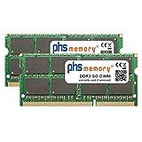 PHS-memory 16GB (2x8GB) Kit RAM Speicher für QNAP TS-253B DDR3 SO DIMM 1866MHz PC3L-14900S
