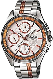 Casio Casual Watch Analog Display for Women LTP-2086RG-7A