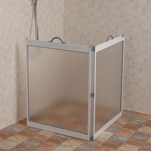NRS Healthcare CS1 - Mampara de ducha portátil