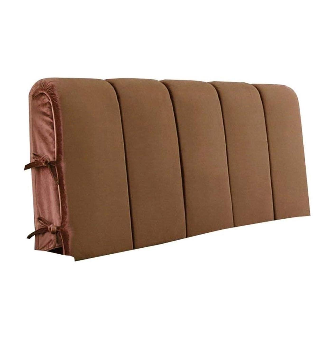 吸う経度偉業畳ベッドヘッドクッション壁に直接衝突防止ソフトバッグダブルいいえベッドヘッドクッション洗える生地背もたれ(160×4×60 cm)