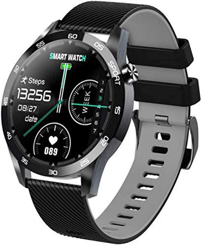 GANG Rastreador de Fitness, Reloj de Actividad Inteligente con Monitor de Ritmo Cardíaco, Monitores de Sueño Calorie Podómetro Presión Arterial Deporte Smartwatch para Hombres Mujeres