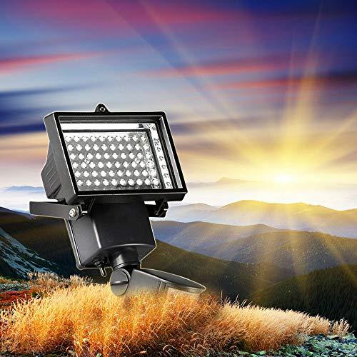 60 LEDs Solar Licht Flutlicht Hoflampe...