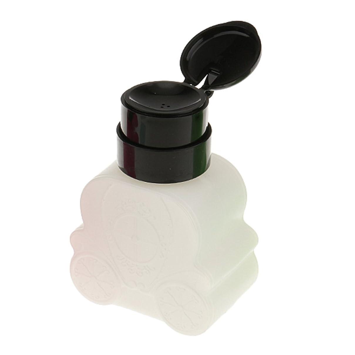 銃香水店主SM SunniMix ネイルクリーナーボトル ネイルクリーナーボトル ポンプ