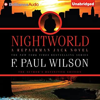 Nightworld audiobook cover art