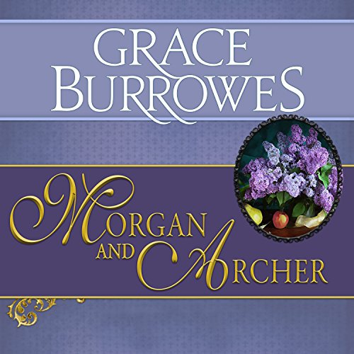 Morgan and Archer audiobook cover art