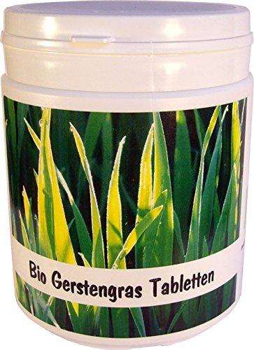 SANOS Bio Gerstengras Tabletten 500g / 1250 Tabletten aus eigenem Anbau frisch vom Bodensee