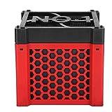 Purificador de agua de acuario amarillo, Cubos de purificador de agua Capacidad de adsorción de color de agua 11.7 x 11.7 x 10.7 CM Plástico y carbón activado hecho