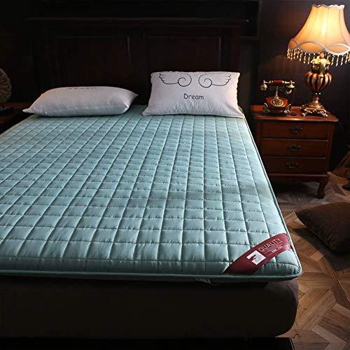 MKXF Colchón del futón del Piso, colchón Plegable para el Dormitorio casero del Estudiante del apartamento de la Cama