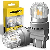 AUXITO 3157 LED Bulbs Amber Yellow LED Turn Signal Bulb 3156 3056 4157 3157A 3457A LED Replacement Lamp for Turn Signal Blinker Bulbs Side Marker Lights (Pack of 2)